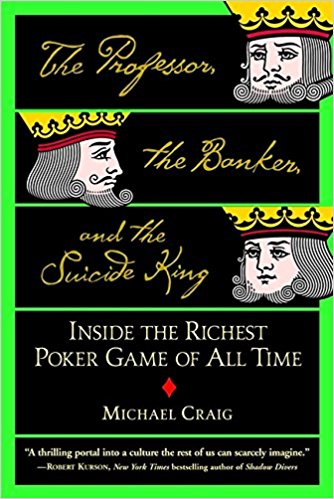 Professor Banker Suicide King poker book