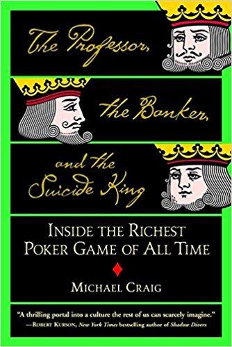 Professor Banker Suicide King poker book