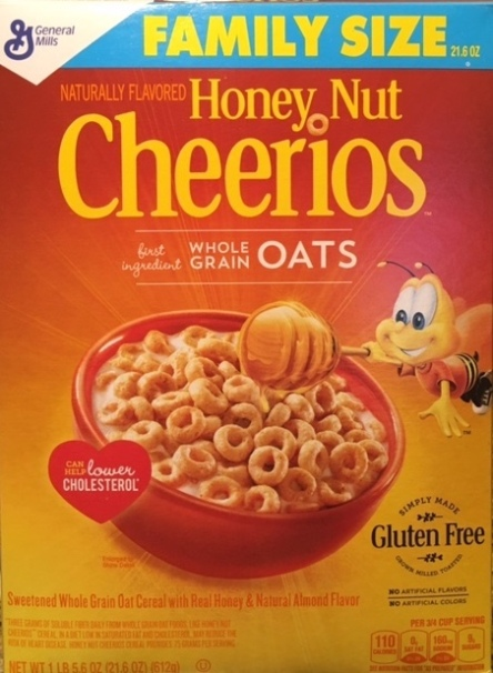 Cheerios for breakfast before playing poker at Bellagio in Las Vegas