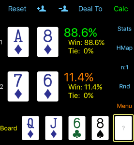 turn poker equity calculation