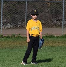 right field baseball kid