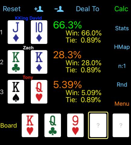 flopped straight vs set vs top 2-pair