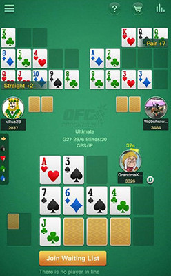 Pineapple Open-Face Chinese poker