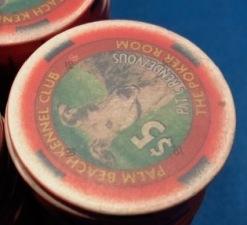 PBKC ancient poker chips