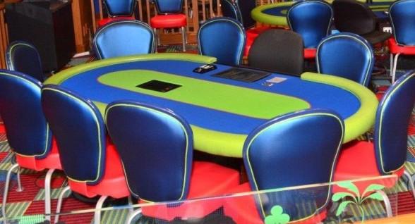 PBKC poker table